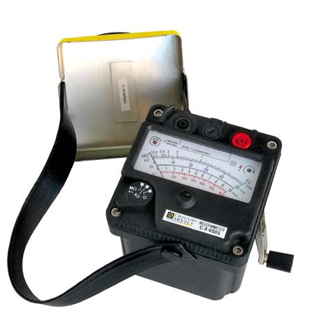 CA6501 Magneto analogue insulation testers