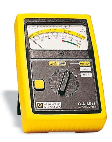 CA6511 Analogue insulation testers
