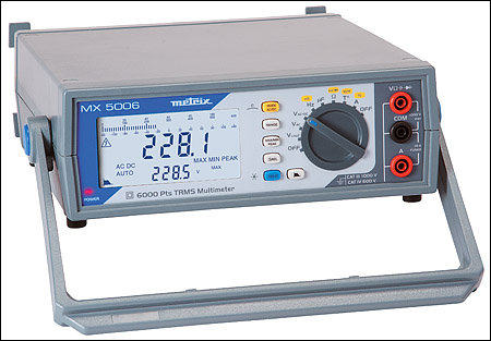 MX 5006 Bench-top Multimeter
