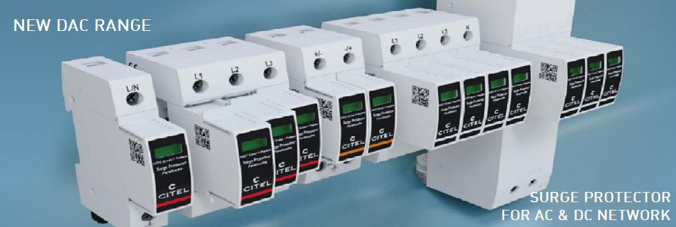 NEW DAC RANGE SURGE PROTECTOR FOR AC & DC NETWORK