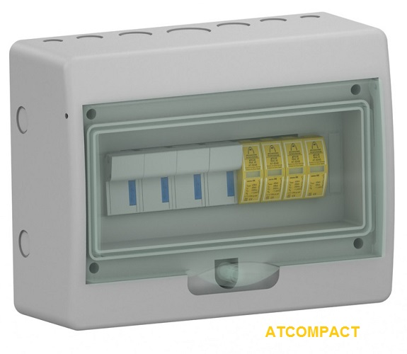 ATCOMPACT M1 30kA AC Surge Protection Panel