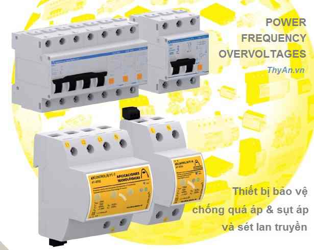 Power frequency overvoltages Protector