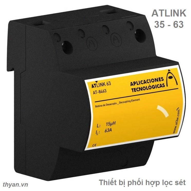 ATLINK 35 Decoupling inductor for SPD power supply coordination