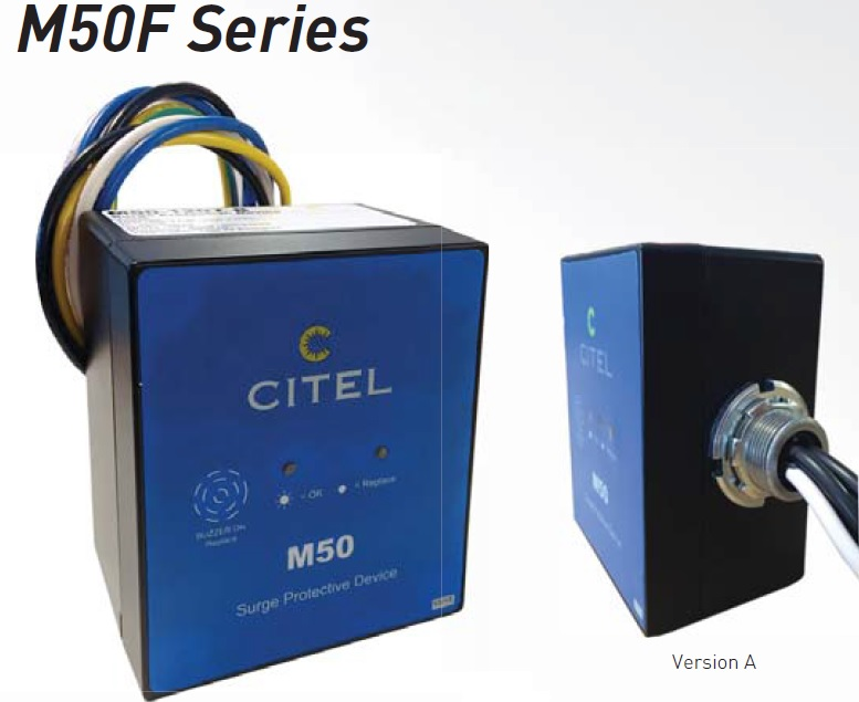 M50F-230S Surge protective Device and EMI/RFI Filtering
