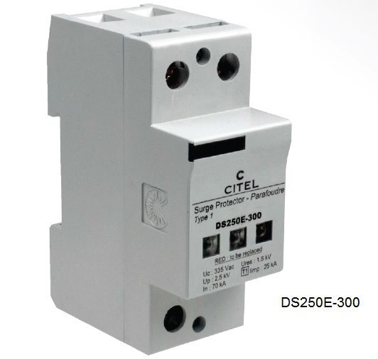 DS250E Series Type 1+2 Surge Protector
