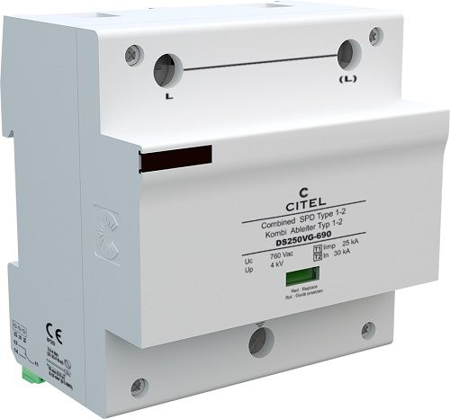 Type 1+2+3 Surge Protector for 690 Vac network