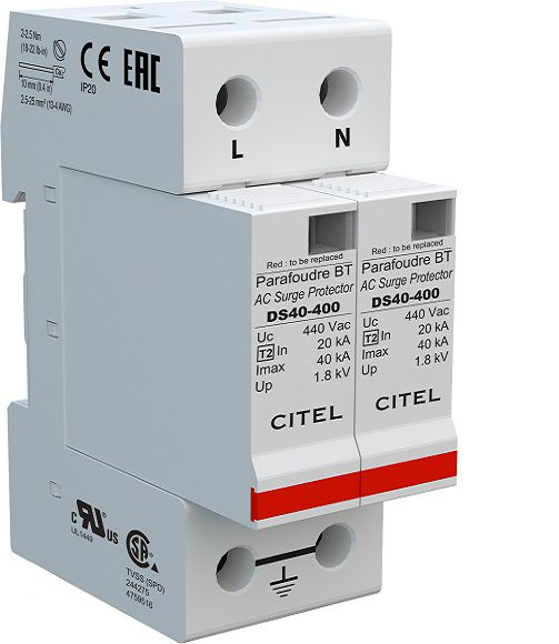 CITEL DS42 Type 2 AC 1 phase Surge Protector-40kA
