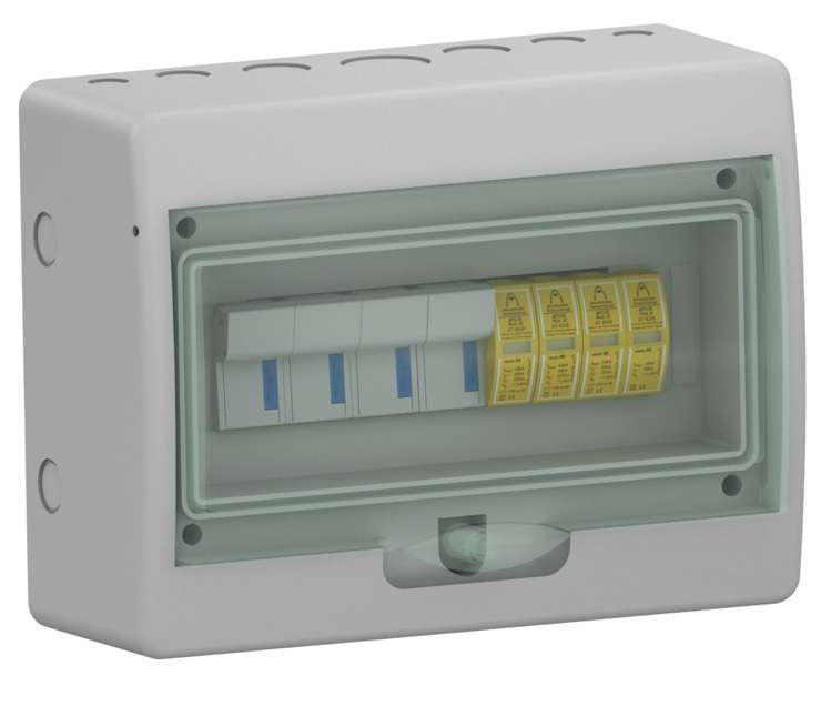 ATCOMPACT T2 40kA AC Surge Protection Panel