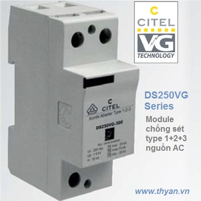 DS250VG Type 1+2+3 AC Surge Protector