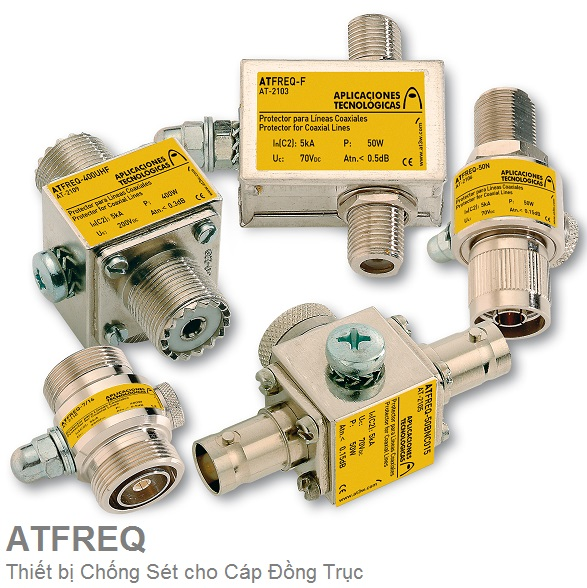ATFREQ SPD for Coxial Cables