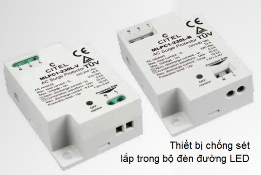 MLPC1-230L Single-phase AC surge protector for streetlights