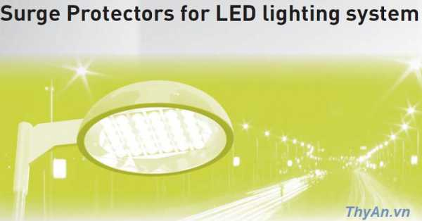 Surge Protectors for LED lighting system