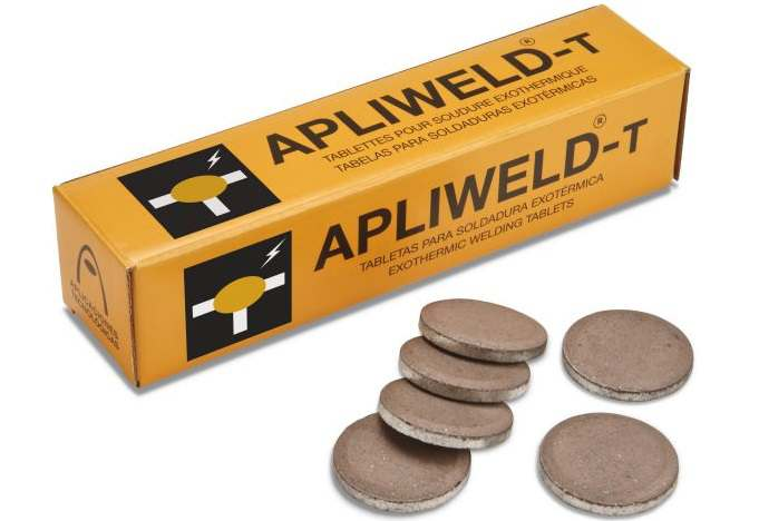 Apliweld-T Exothermic welding in tablets