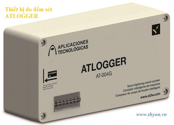 ATLOGGER Lightning Strike Counter & Recorder