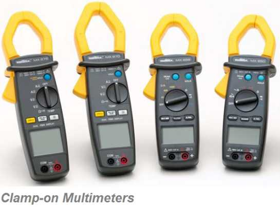Current & multimeter clamps