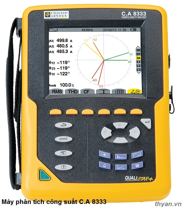 CA8333 Power and Energy Analyzer 4U/3I