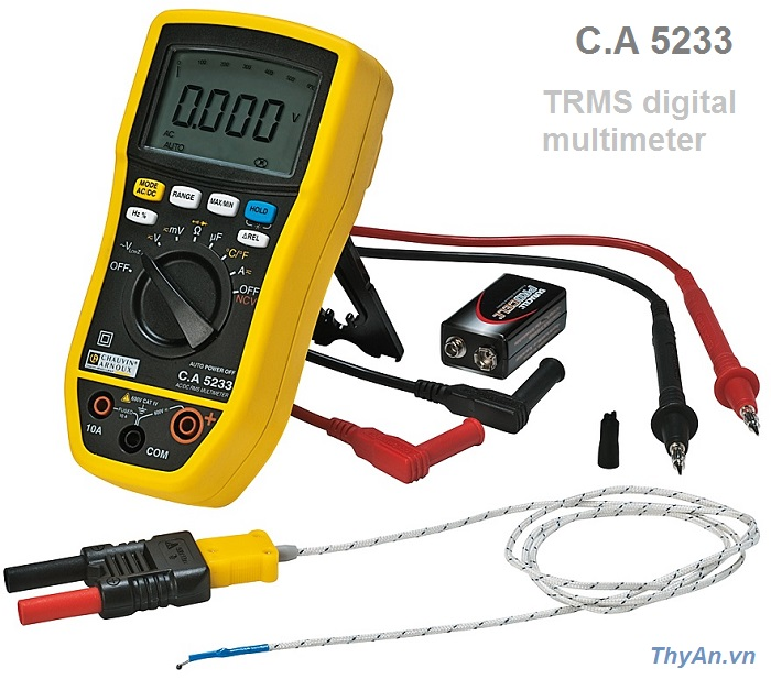 C.A 5233 TRMS digital multimeter