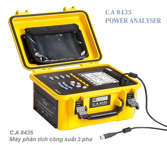CA8435 Power and Energy quality Analyzer