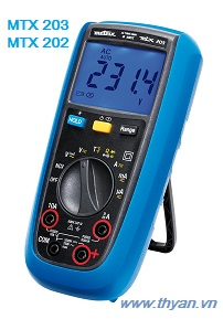 MTX 203-202 TRMS AC digital multimeters