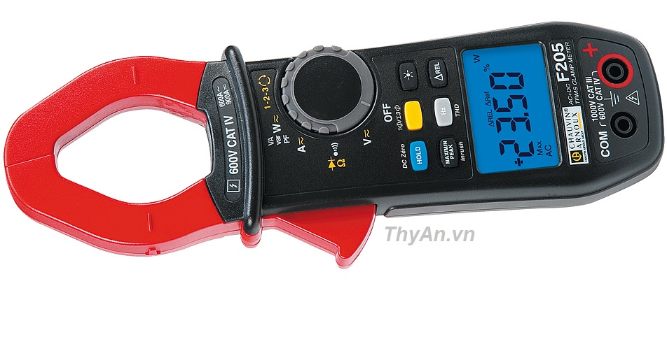 F205 600AAC/900ADC AC+DC TRMS multimeter clamp