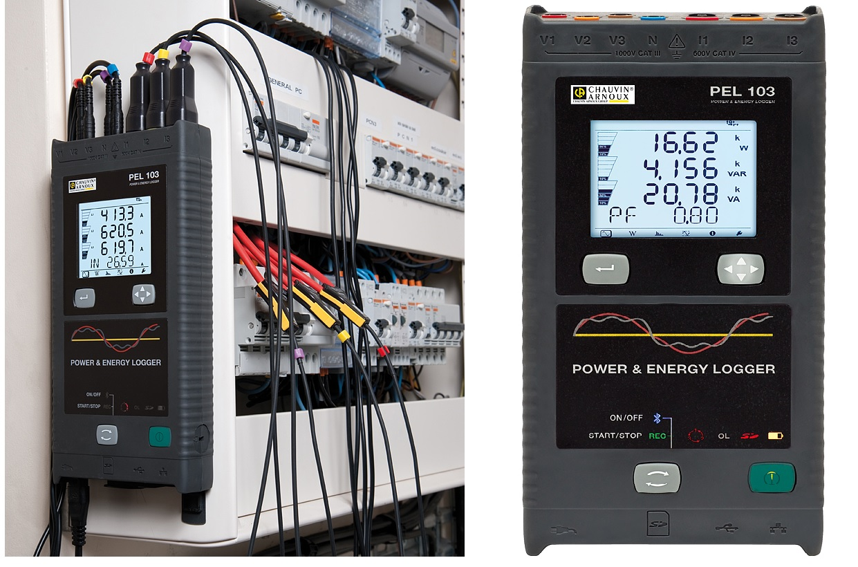 PEL103 Power and Energy Logger