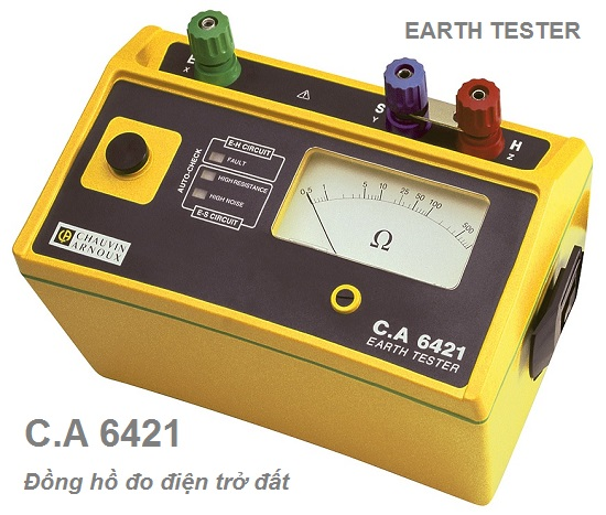 CA6421 Earth Tester