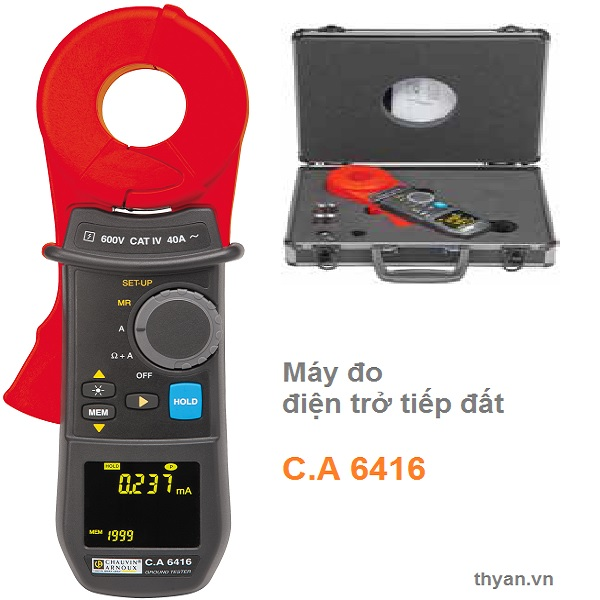 CA6416 Clamp-on ground resistance testers