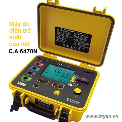 CA6470N Earth & Resistivity Tester