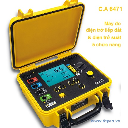 CA6471 Earth & Resistivity Tester