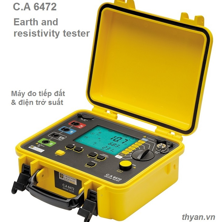CA6472 Earth & Resistivity Tester