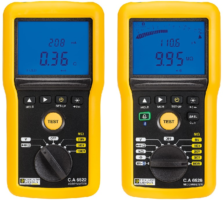 C.A 6522-4-6 Insulation and Continuity Testers