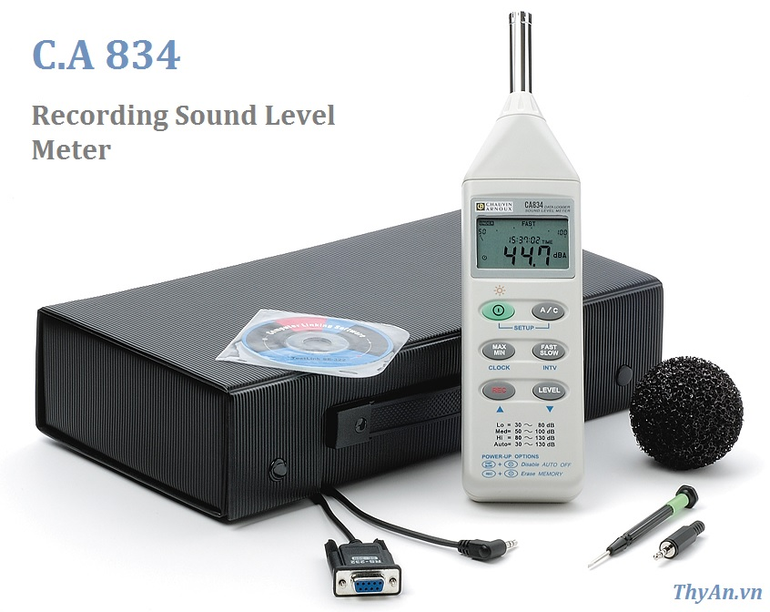 CA834 Recording Sound Level Meter