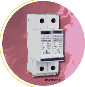CITEL DS72R Type 2 AC Single-phase Multipolar Surge Protector 70kA