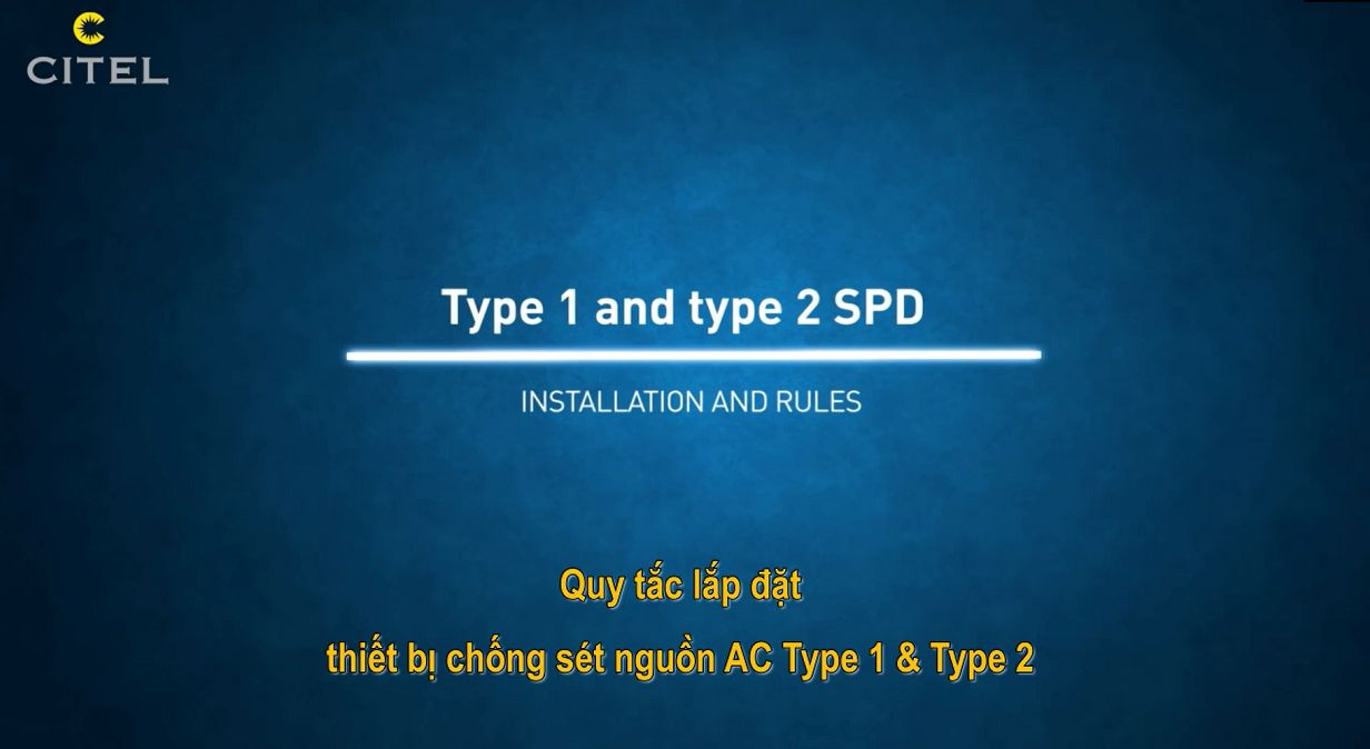 Type 1 and type 2 SPD - Installation and Rules